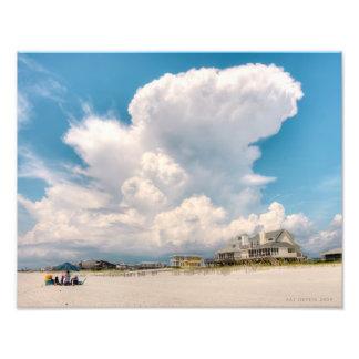Cape San Blas Cloudscape Art Photo
