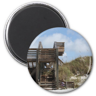 Cape San Blas Florida Dunewalk from beach side Fridge Magnet