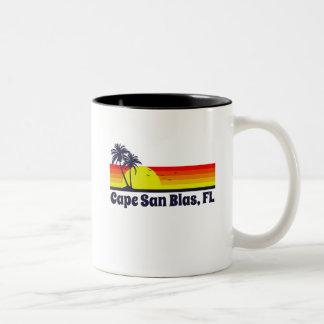 Cape San Blas Florida Two-Tone Coffee Mug