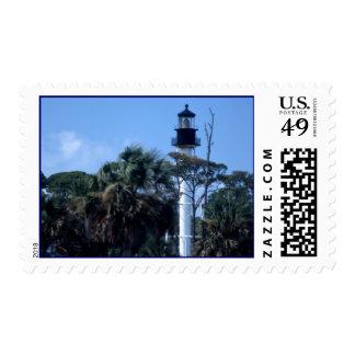 Cape San Blas Lighthouse Stamp