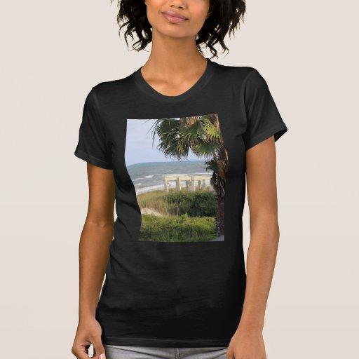 Cape San Blas Ocean Sea Mermaid Salt   T-shirts