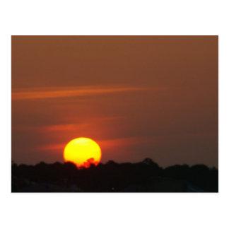 Cape San Blas Sunset Postcard
