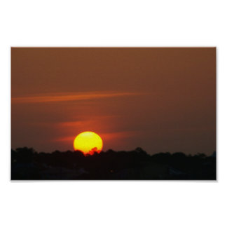 Cape San Blas Sunset Poster