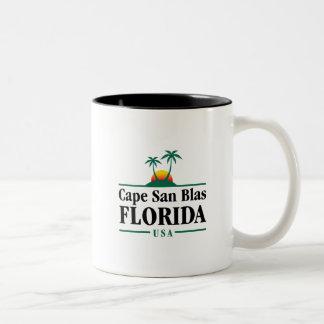 Cape San Blas Two-Tone Coffee Mug