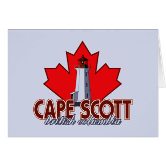 Cape Scott Lighthouse Card