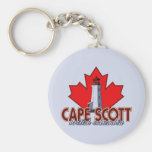 Cape Scott Lighthouse Keychain