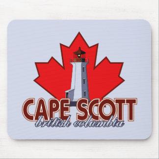 Cape Scott Lighthouse Mouse Pad