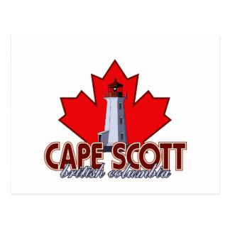 Cape Scott Lighthouse Postcard