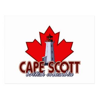 Cape Scott Lighthouse Postcard