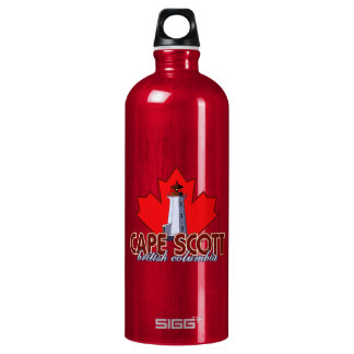 Cape Scott Lighthouse Water Bottle