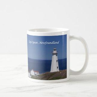 Cape Spear Lighthouse Classic White Coffee Mug