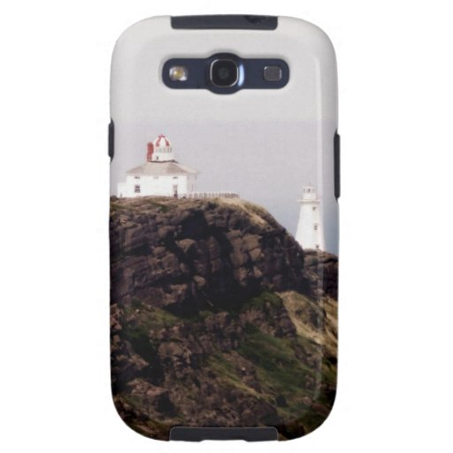 Cape Spear Lighthouse Galaxy SIII Cases