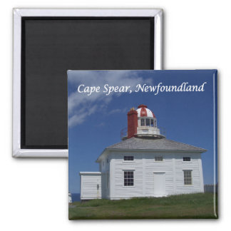 Cape Spear, Newfoundland, 2 Inch Square Magnet