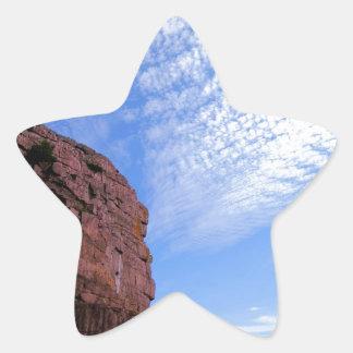 Cape Spear Path Star Sticker