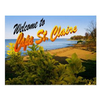 Cape St. Claire postcard