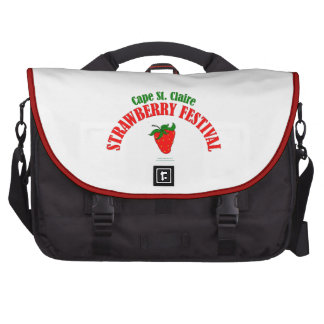 Cape St. Claire Strawberry Festival Gifts Laptop Bags