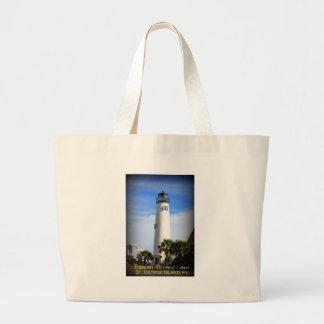 CAPE ST. GEORGE LIGHTHOUSE - ST. GEORGE ISLAND, FL TOTE BAG