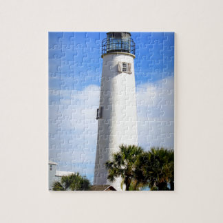 CAPE ST. GEORGE LIGHTHOUSE - ST. GEORGE ISLAND, FL JIGSAW PUZZLE