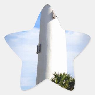 CAPE ST. GEORGE LIGHTHOUSE - ST. GEORGE ISLAND, FL STAR STICKER