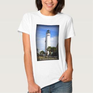 CAPE ST. GEORGE LIGHTHOUSE - ST. GEORGE ISLAND, FL T-Shirt