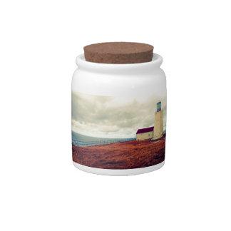 Cape St. Mary's Lighthouse Candy Jar