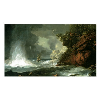 Cape Stephens in Cook s Straits Business Card