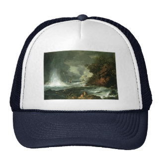 Cape Stephens in Cook's Straits Trucker Hats