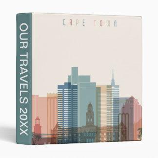 Cape Town, Africa | City Skyline 3 Ring Binder