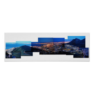 Cape Town at night Poster