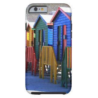 Cape Town Beach Huts Tough iPhone 6 Case