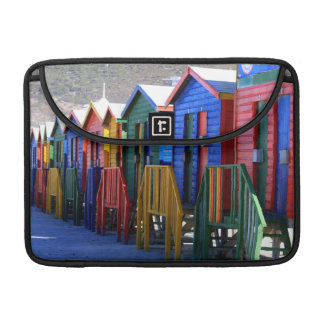 Cape Town Beach Huts Sleeve For MacBook Pro