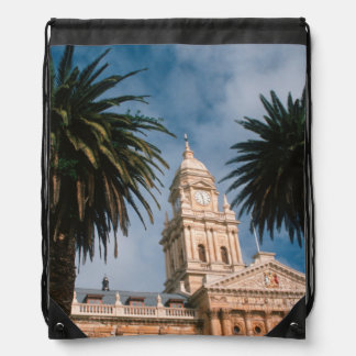 Cape Town City Hall, Cape Town, Western Cape Drawstring Bag