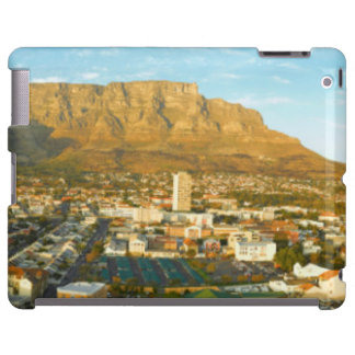 Cape Town Cityscape With Table Mountain