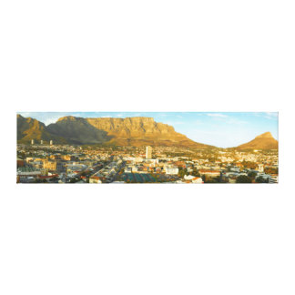 Cape Town Cityscape With Table Mountain Canvas Print