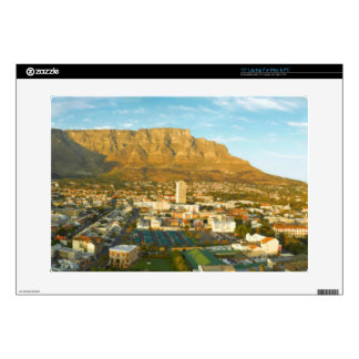 Cape Town Cityscape With Table Mountain Decal For Laptop