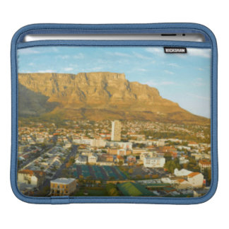 Cape Town Cityscape With Table Mountain iPad Sleeves