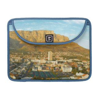 Cape Town Cityscape With Table Mountain MacBook Pro Sleeves