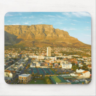 Cape Town Cityscape With Table Mountain Mouse Pad