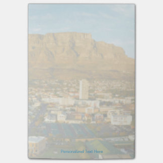 Cape Town Cityscape With Table Mountain Post-it® Notes