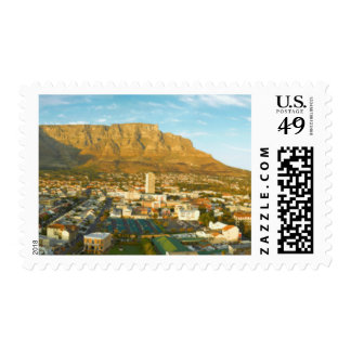 Cape Town Cityscape With Table Mountain Postage