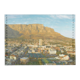 Cape Town Cityscape With Table Mountain Tyvek® Card Wallet