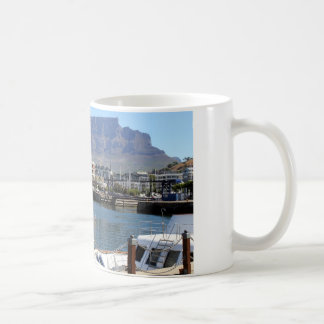 Cape Town Harbour and Table Mountain Coffee Mug