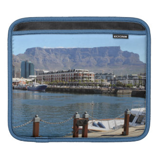 Cape Town Harbour and Table Mountain iPad Sleeve