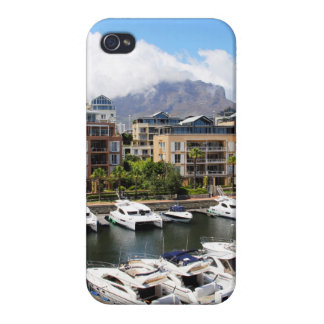 Cape Town Harbour and Table Mountain iPhone 4/4S Case