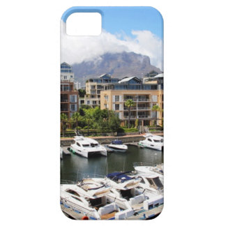 Cape Town harbour and Table Mountain iPhone SE/5/5s Case