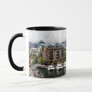 Cape Town Harbour and Table Mountain Mug