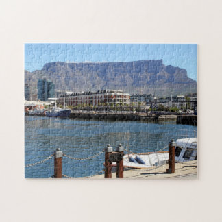 Cape Town Harbour and Table Mountain Jigsaw Puzzle