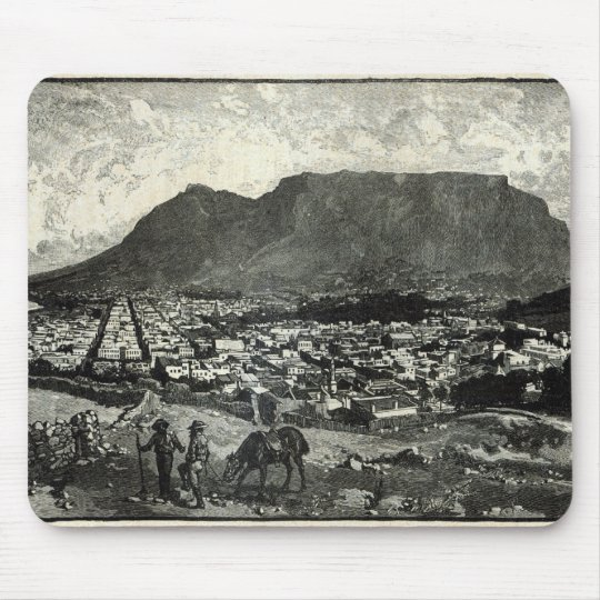 Cape Town Mouse Pad