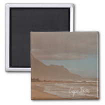 Cape Town Ocean Waves Impressionism Magnet