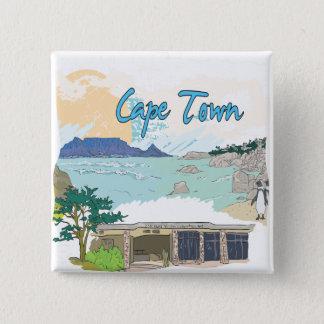 Cape Town Pinback Button